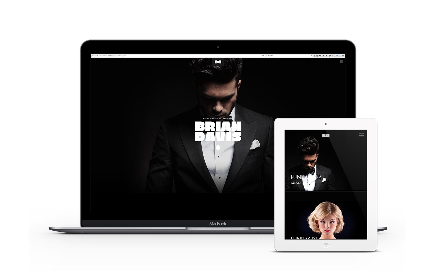 Brian-responsive-wordpress-theme